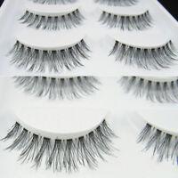 LN_ 5pairs Fake Eyelashes DEMI WISPIES False Lashes Natural Long MakeUp Eye