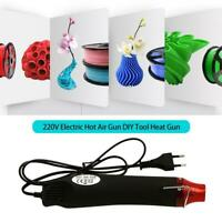 Mini Heat Gun DIY Electric Nozzles Tool Hot Air Gun Embossing Paint DIY T3C9