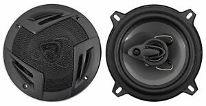 """Pair Rockville RV5.3A 5.25"""" 3-Way Car Speakers 600 Watts/100 Watts RMS CEA Rated"""