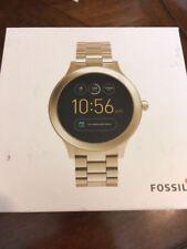 Fossil Q Gen 3 Venture Gold Tone Touchscreen Smart Watch FTW6006