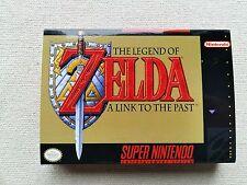 SNES The Legend Of Zelda, Custom Art case only, no game included
