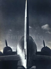 1936 Vintage Airplane AVIATION Photo Art Russian DMITRI KESSEL 16x20 Frame Ready