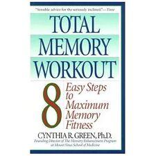 TOTAL MEMORY WORKOUT - CYNTHIA R., PH.D. GREEN (PAPERBACK) NEW