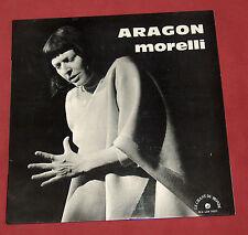 MONIQUE MORELLI   LP CHANSONS D'ARAGON