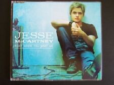 JESSE McCARTNEY Right where w/ UNRELEASED TRK Europe CD single  SEALED USA seler