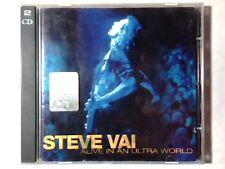 STEVE VAI Alive in an ultra world 2cd