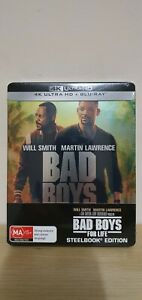 Bad Boys For Life - Limited 4K + Blu-ray Steel Book Brand New Sealed