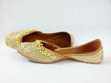 Punjabí Jutti Khussa Zapatos de Boda Novia Mojari Jooti Zapatos Planos