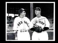 Babe Dahlgren JSA Coa Signed 8x10 Vintage Yankees Photo Autograph