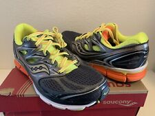 SAUCONY MENS HURRICANE ISO S20259-1 RUNNING BOX DAMAGE SIZE 9