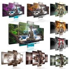 Buda Cacada Cuadros lienzo XXL decoracion pared foto impresión c-A-0021-b-n