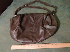 100% Brown Vinyl - Shoulder Bag_Purse by Airwalk (Ltd.) FREE SHIP.