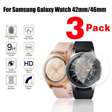 3x Tempered Glass Screen Protector For Samsung Galaxy Watch 42/46mm SM-R800/810