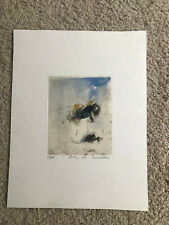 Art Gallery Inventory Liquidation -  etching by A. Nocentini