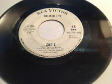 LIVERPOOL FIVE she's mine 45 on RCA VICTOR --- RARE GARAGE