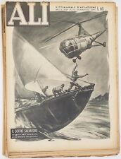 ALI SETTIMANALE AVIAZIONE 1953 INDOCINA OLTOLINI LUGANO CENTOCELLE CINA BOLZANO