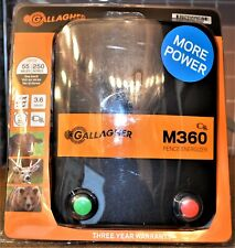 Gallagher M360 Electric Fence Energizer 250-Acres 55-mi