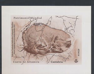 XC52497 Spain world heritage imperf XXL sheet MNH
