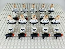 Star Wars Imperial Stormtrooper Minifigures Army Lot of 10 (Not made by Lego)