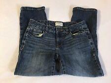 Aeropostale Kids Straight Denim Blue Jeans Size 3/4 Pocket Design Every Day