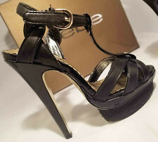 52a53ae3531b Bebe Holly Strappy High Heels Espadrille Platform Sandals Sz 5 35 New in  box!
