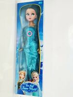 Frozen Elsa doll Figurine Large Toy Doll with Music