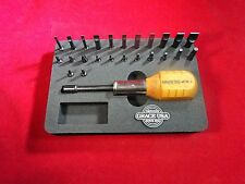 Grace USA Gunsmith 24 Bit Magnetic Tip Screwdriver and Stand Set GRMT24