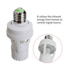 AC 110V-240V Infrared PIR Motion Sensor LED E27 Lamp Bulb Holder Switch IT