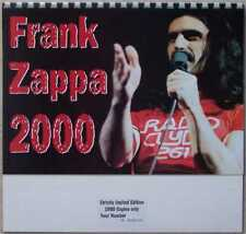 More details for frank zappa 2000 calender electronic avantgarde experimental new/sealed numbered