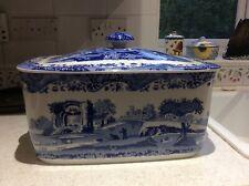 More details for spode blue italian bread bin