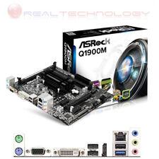 Scheda Madre Asrock Q1900M MICRO ATX con Processore Quad Core J1900 New DDR3