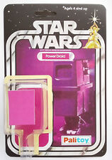 1979 PALITOY POWER DROID  20 BACK RESTORE KIT SELF ADHESIVE KIT TOY  GONK DROID