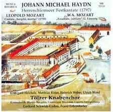 Wolfgang A. Mozart - Leopold Mozart - Johann Michael Haydn CD Musica Bavarica