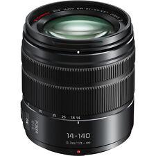 Panasonic Lumix G Vario14-140mm f/3.5-5.6 ASPH.POWER O.I.S. Lens - Mat Black