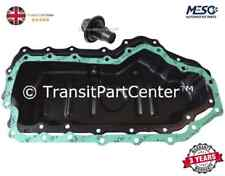BRAND NEW OIL SUMP PAN & GASKET & PLUG FORD TRANSIT CONNECT 2002-2013 1.8 DIESEL