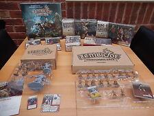 Zombicide Negro plaga Kickstarter Paquete + WULFSBERG expansión nuevo Exclusives