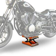 Moto ciseaux élévateur pour harley davidson softail dérivation FXSB Mid-Lift Orange