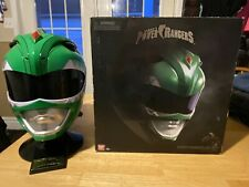 power rangers legacy green ranger helmet