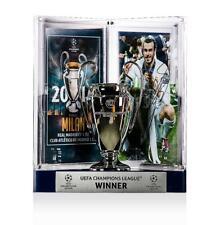 Gareth Bale oficial UEFA Champions League firmado Real Madrid 3D Mini réplica TR