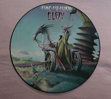 ELOY Time to turn HEAVY METAL WORLDWIDE LP 'Picture Disc' HMI PD3 ~ Rodney Matth