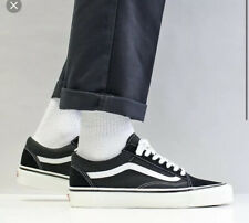 USS* Womens Vans Old Skool 36 DX Shoes – (Anaheim Factory) Black/White Uk 4.5