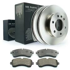 Discos de Freno Forros Delantero 300mm Mercedes-Benz 906 VW Crafter 2e 2f