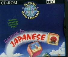 Playing With Language: Games In Japanese PC CD learning colors shapes sizes face