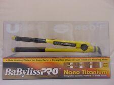 """BABYLISS PRO U STYLE 1"""" NANO TITANIUM 450°F HAIR STRAIGHTENER FLAT IRON BABY2071"""