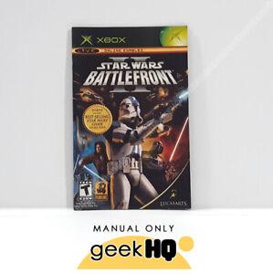 📌 MANUAL - Star Wars Battlefront II ' XBOX (XB)