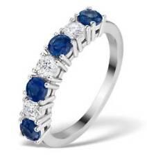 Sapphire White Gold 18k Fine Rings