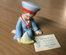 "1982 Holly Hobbie ""Enchanted Voyage"" Figurine~Miniatures Collection Series X"