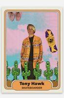 1990 STYLE TONY HAWK PRO SKATEBOARDER VINTAGE CUSTOM ROOKIE RC TRADING CARD