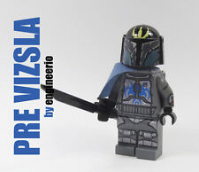 LEGO Custom -- Pre Vizsla -- Star Wars Minifigures fett jango mandalorian 9525