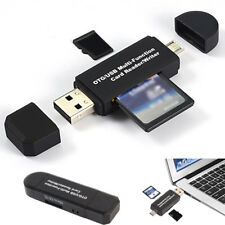 For Android Phone Tablet 64GB Micro USB OTG To USB 2.0 Data Reader SD Card Parts